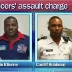 Taser cops deny assault during arrest