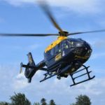 Police chopper goes after drunk driver
