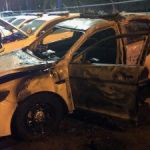 Arsonists set new cop cars on fire