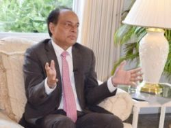 Cayman Islands Governor Anwar Choudhury