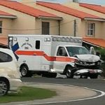 On-call ambulance in 3-vehicle smash