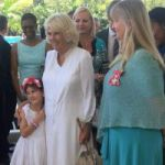 Duchess of Cornwall in packed tour of Grand Cayman