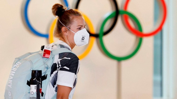 As Olympic athletes begin to arrive in Tokyo, fear of virus spike grows