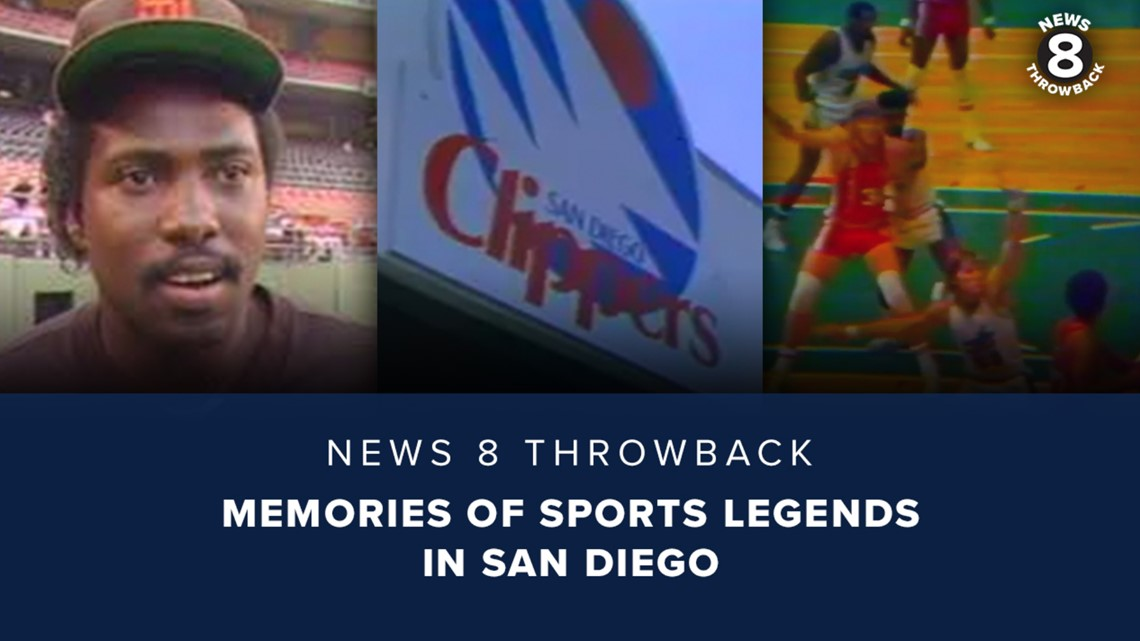 News 8 Throwback: Memories of sports legends in San Diego