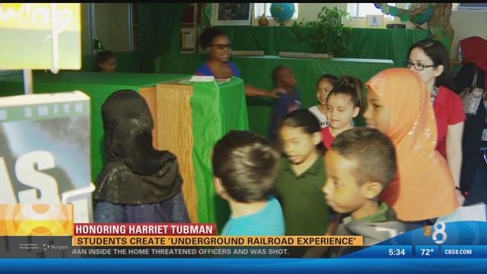 Honoring Harriet Tubman Students Create Underground