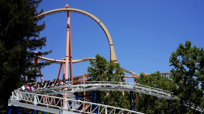 Six Flags Magic Mountain reopens to visitors April 1