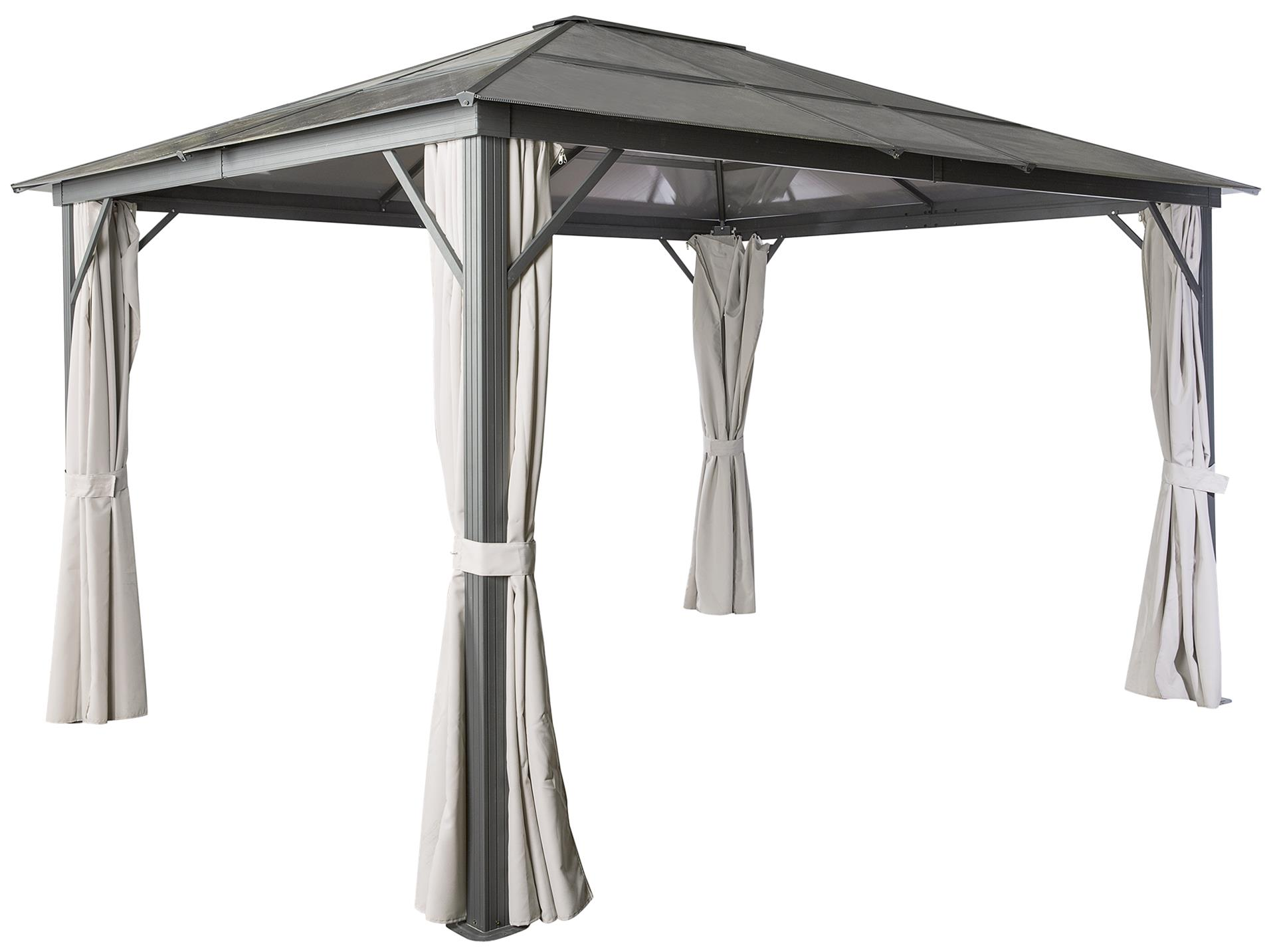 Pergola De Aluminio Viveiro 3x3 65x2 6m Leroy Merlin Portugal