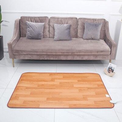 tapis chauffant electrique pour les pieds 50x80cm thermostat pour le bureau pour le sol ou la maison