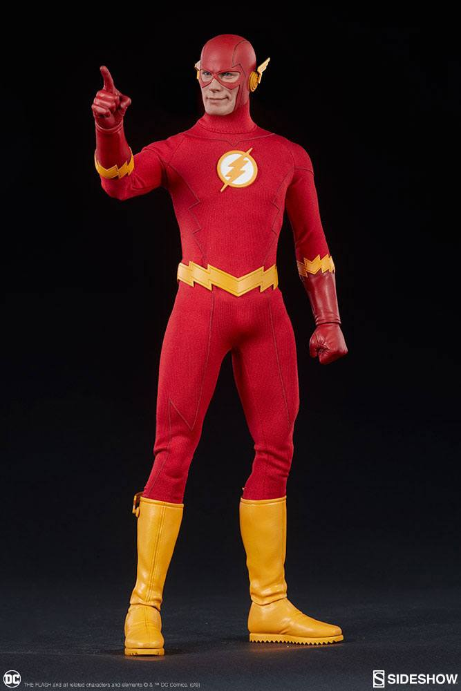 figurine the flash hot toys the flash 31cm