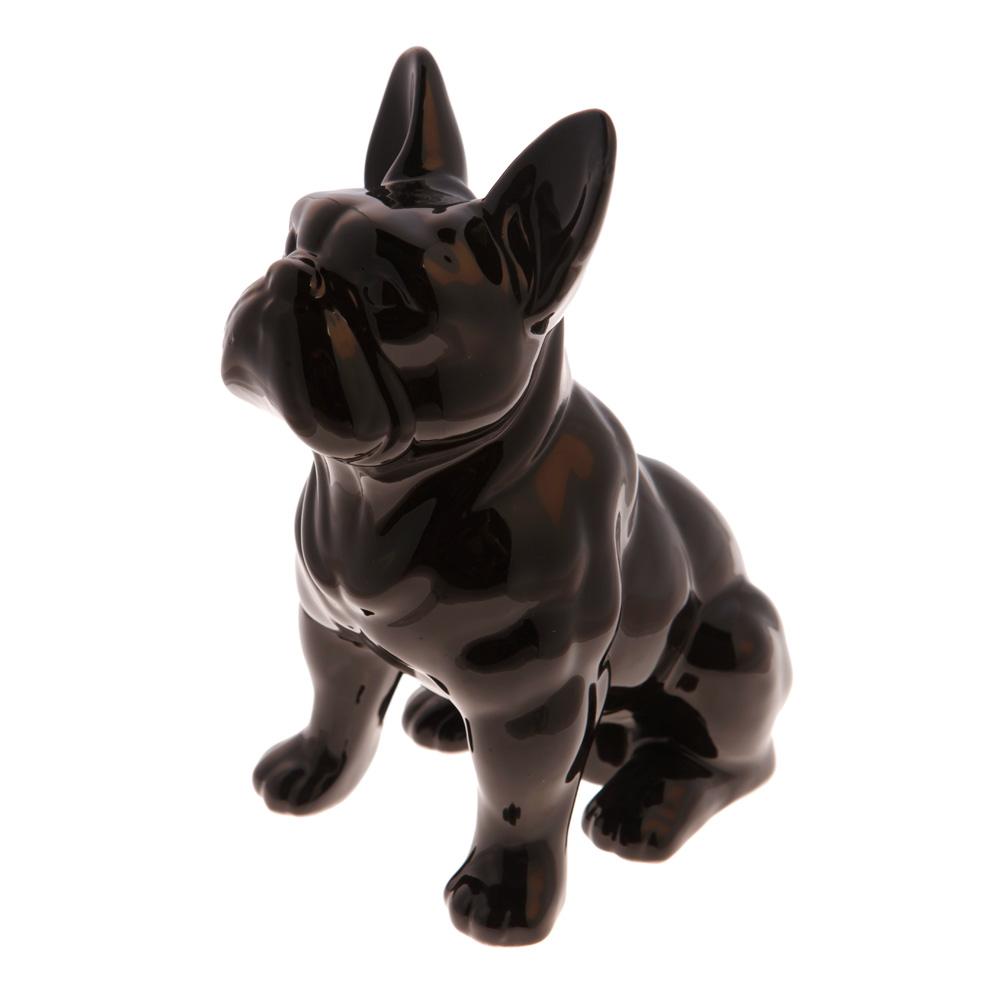 Tirelire bouledogue Noir sur www.DesignfromParis.com