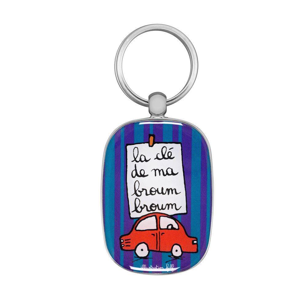 Porte clés - La clé de ma broum broum  Filf : 6,25€