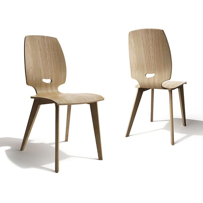 chaise de salle a manger design en bois finn