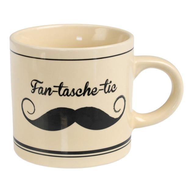 Mug Moustache - Fan - Tasche - Tic  Rex : 5 €