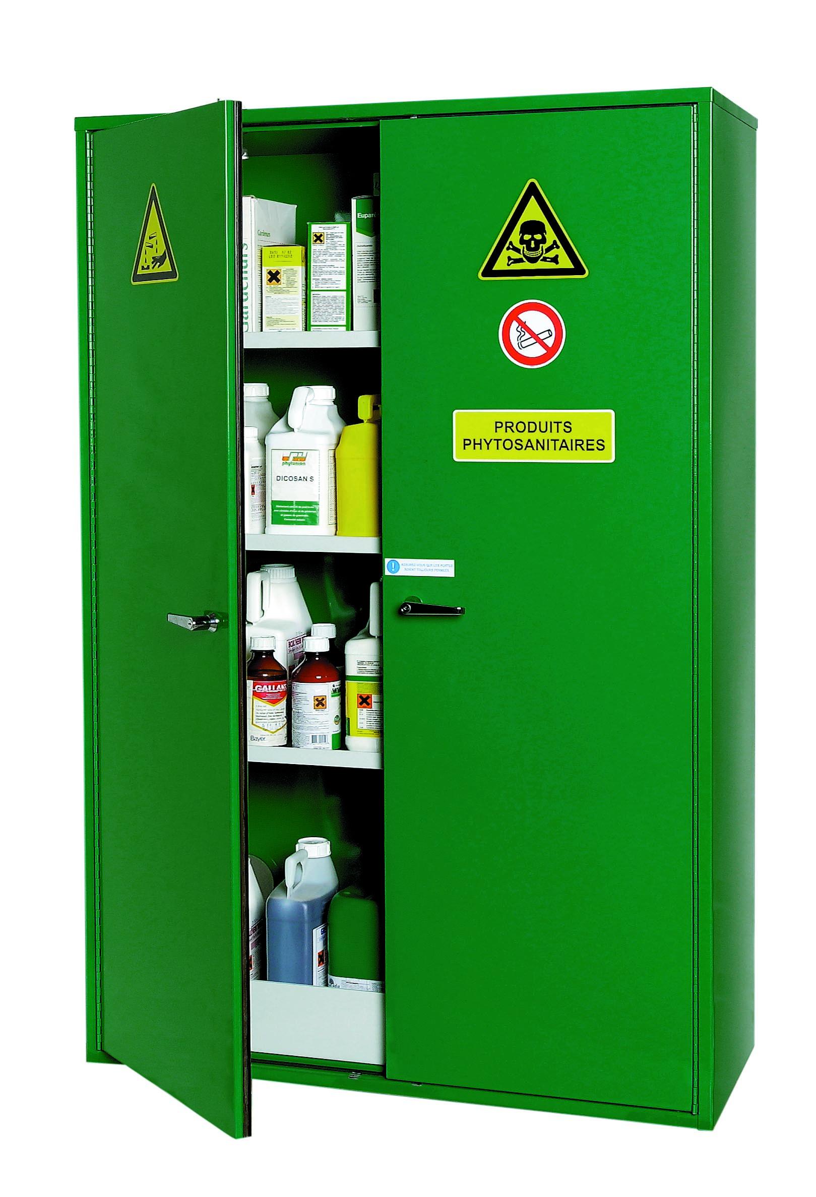 Armoire De Stockage Pour Produits Phytosanitaires2 Portes