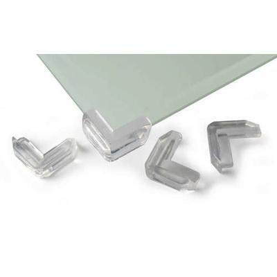 protege coins pour table en verre transparents