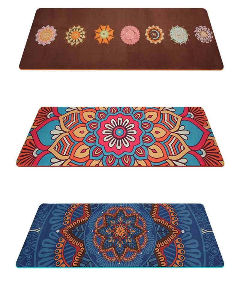 tapis de yoga antiderapant lotus