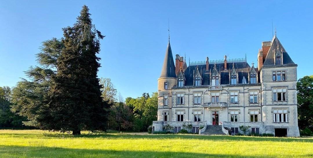 permaculture au chateau de Boisrenault vue d'ensemble