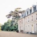 découvrir le patrimoine historique de l'EURE-ET-LOIR sur la façade principale du chateau de bouthonvilliers