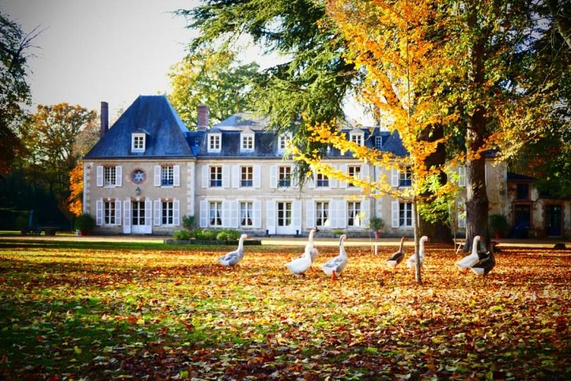 découvrir le château de bouthonvilliers en automne