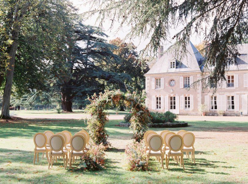 le château de bouthonvilliers en EURE-ET-LOIR un jour de cérémonie
