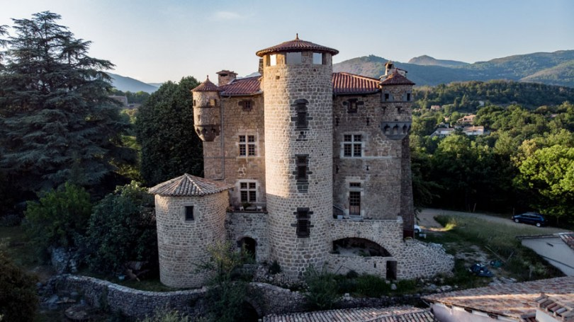 Le château de Hautsegur photo : Hugues Faure