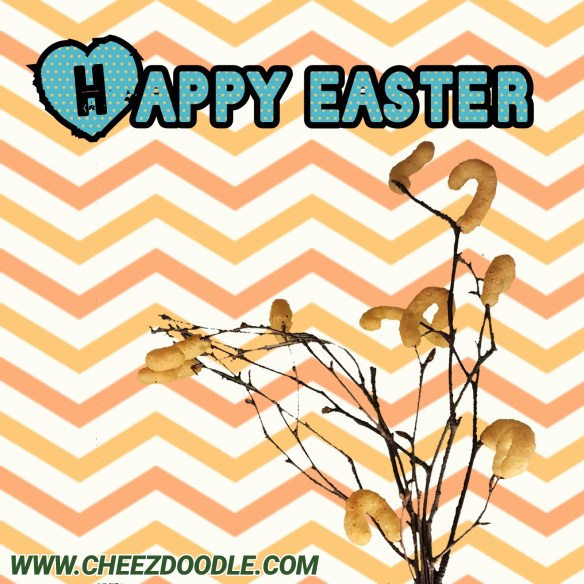 Happy easter cheezdoodle 2017