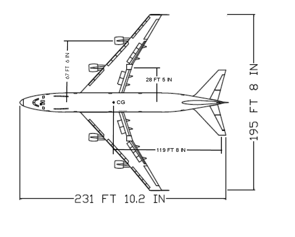 Solved Boeing 747 100 As Illustrated Was At Cruise When T
