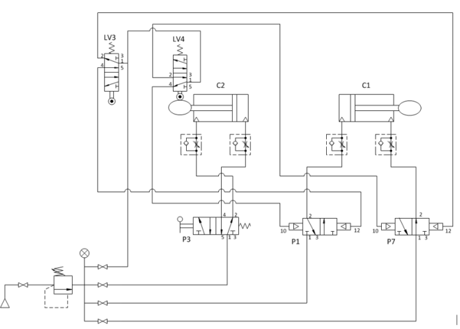 converting to electrical wiring schematic diagram