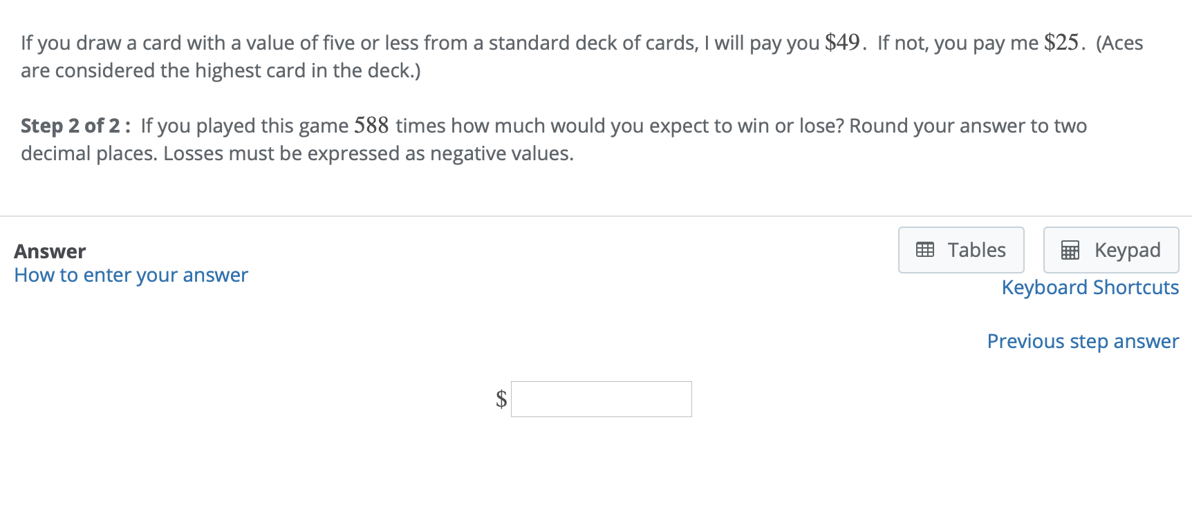 Learn more about which deck of cards to buy for your poker game. If You Draw A Card With A Value Of Five Or Less From Chegg Com