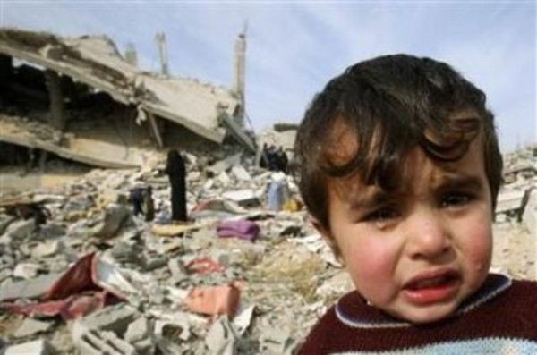 More than 300 children have been killed by Israel's bombardment of Gaza.