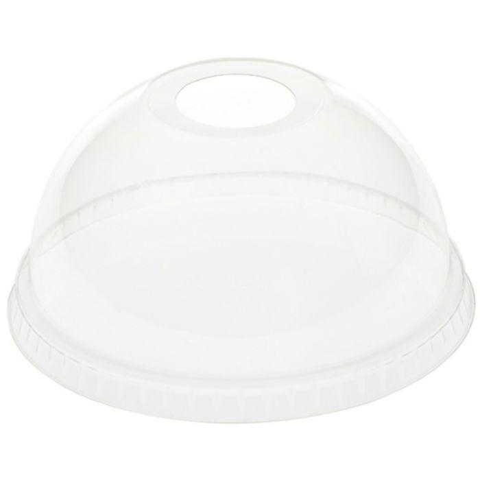 couvercle dome transparent plastique o 97 mm duni 50 pieces
