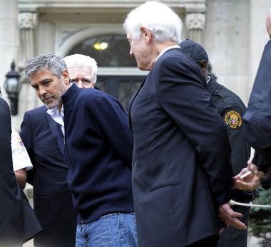 George Clooney, Nick Clooney, Jim Moran