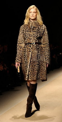 Salvatore's memorable fur coat