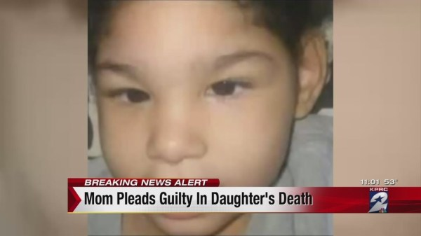 Mom pleads guilty in death of daughter