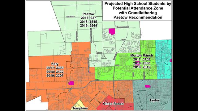 Katy Isd School Boundaries Map