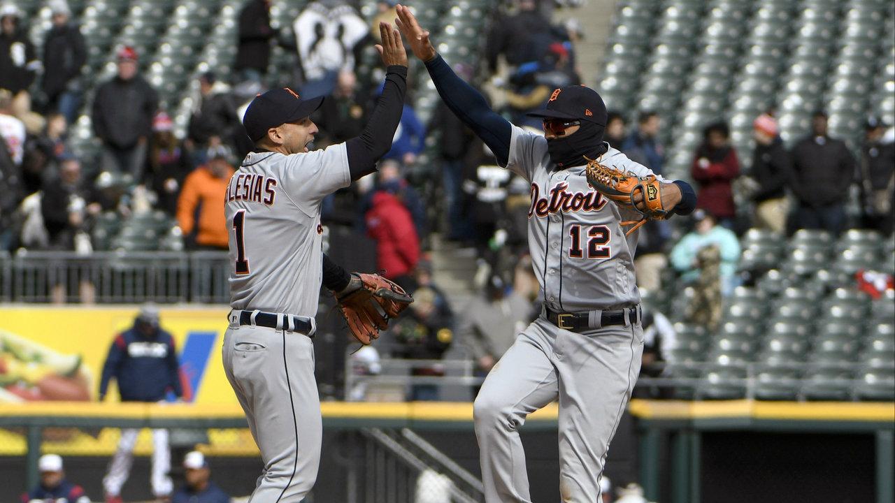 Detroit Tigers Line Score