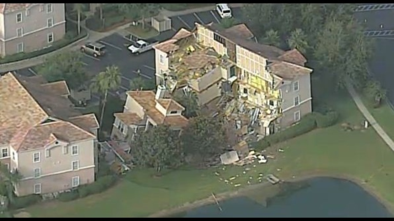 Sinkhole Causes Central Florida Resort To Collapse
