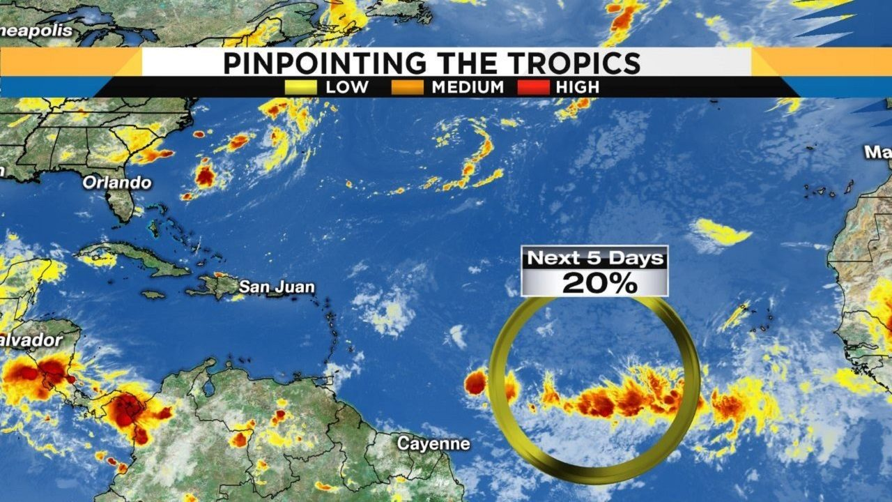 Tracking The Tropics Forecasters Eye Potential System In