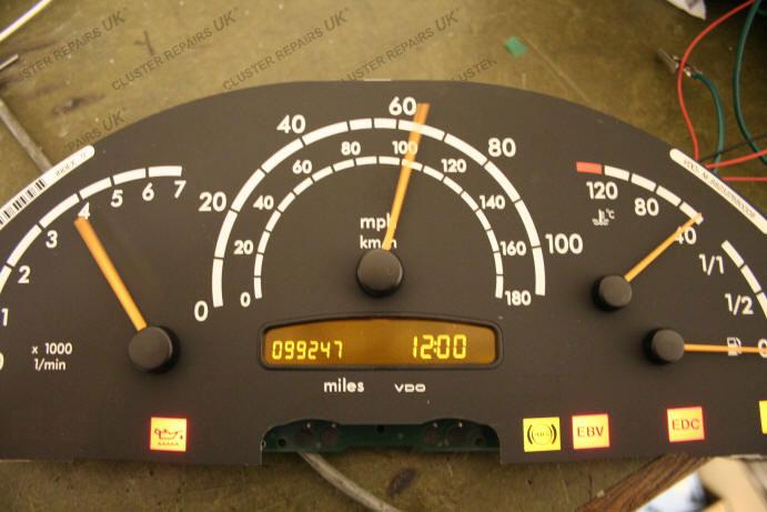 Car Dashboard Cluster Repairs