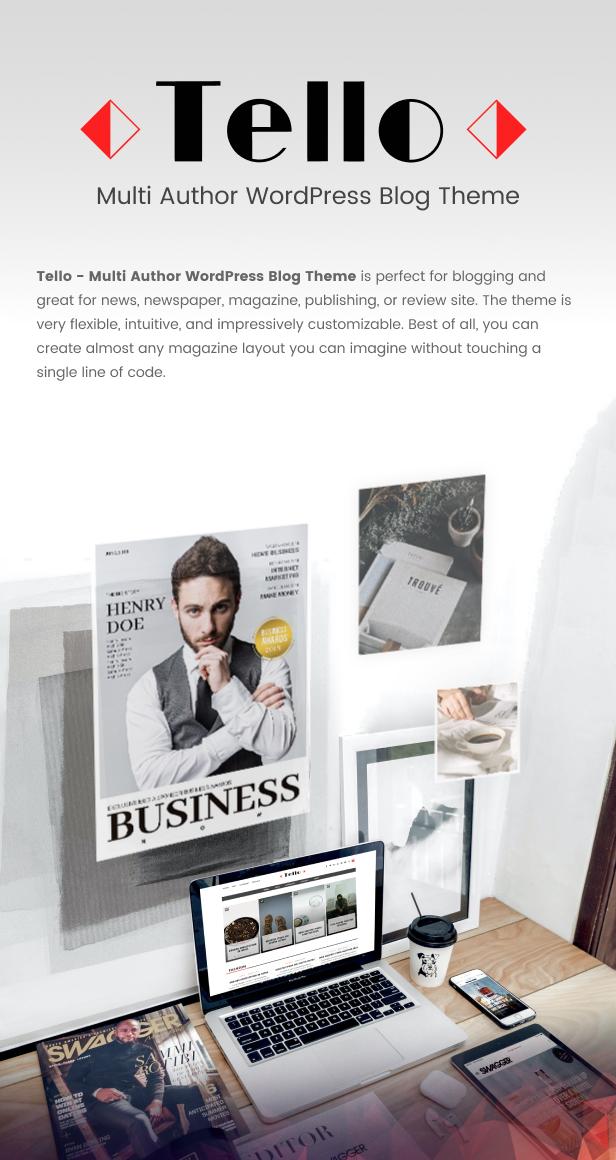 Tello - WordPress Magazine/Blog Theme - 5