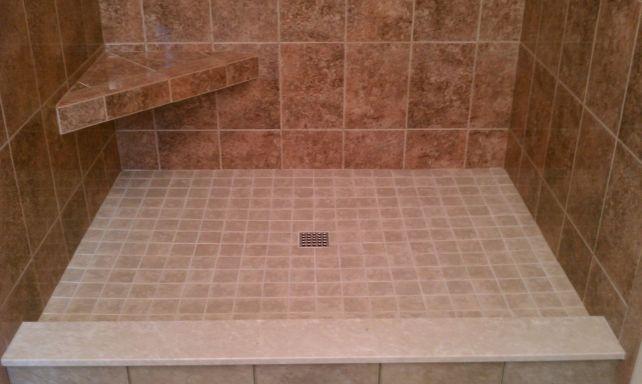 custom tile shower pans tile company