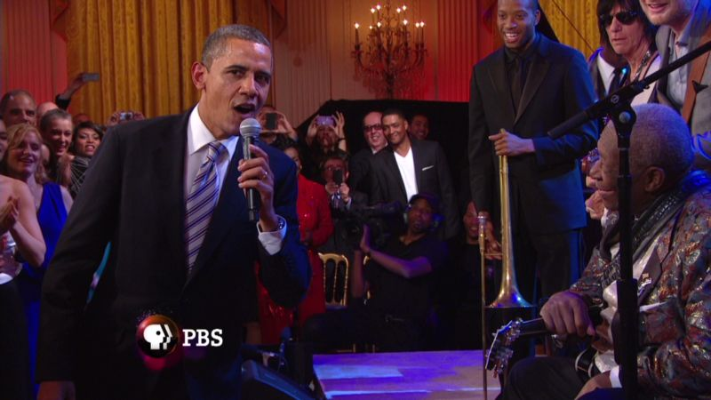 Browse more videos · obama sings 'sweet home chicago' during blues concert at white house (video) · president obama sings sweet home chicago with b.b. Obama Adds His Voice To White House Blues Jam Cnn