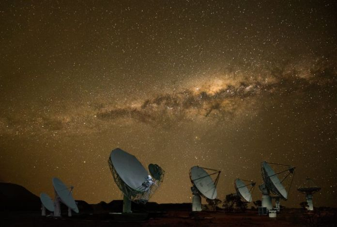Africa has been slow to embark on space travel. But new projects on the continent look promising. South Africa's ambitious Square Kilometer Array project aims to build the world's biggest radio telescope that will help scientists paint a detailed picture of some of the deepest reaches of outer space. </p><p>Pictured here: a composite image of the MeerKAT and Square Kilometre Array Pathfinder (ASKAP) satellites.