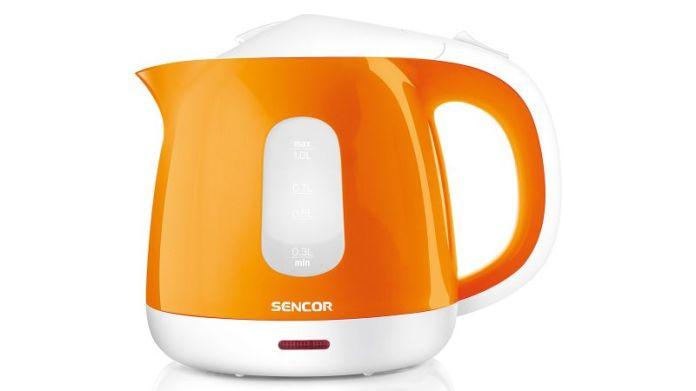 Sencor Orange Small 4.3 Cup Electric Kettle