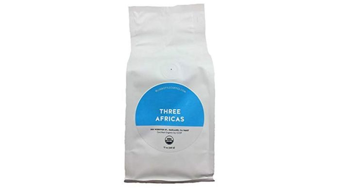 Blue Bottle Coffee Three Africas Blend, Whole Beans Coffee, 6 Ounces