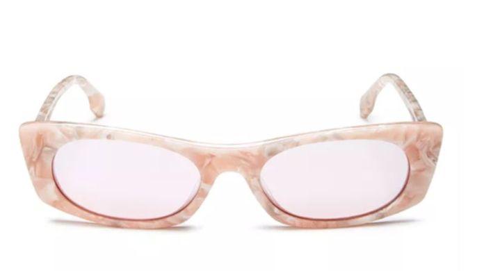 Le Specs Luxe Women's Deep Shade Square Sunglasses