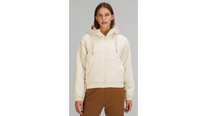 लुलुलेमोन प्रतिवर्ती ऊन जैकेट