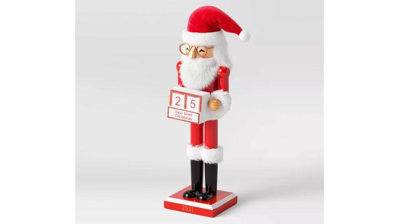 Wondershop Snowman Santa Countdown Nutcracker