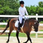After rainout, new riders shine at dressage show