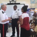 Police commissioner visits Little Cayman